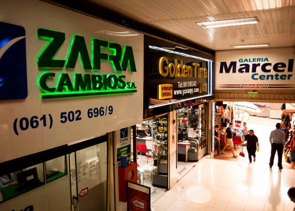 foto golden time loja no paraguai ciudad del este